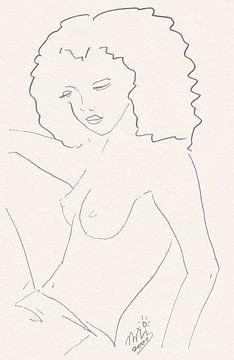 Weiblicher Akt von Wieland Teixeira