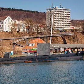 HMS Otus à Sassnitz sur Rob Boon