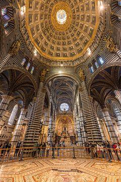 Die Kuppel im Dom von Siena von Denis Feiner