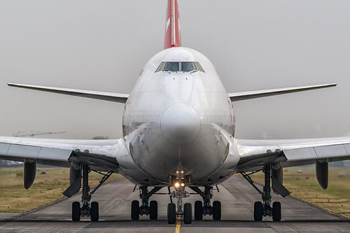 Head to head with Boeing 747.