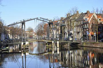 Schiedam,  Appelmarkt brug van Dick Kattestaart