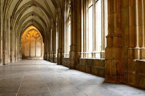 De kruisgang ten zuiden van het koor van de Utrechtse Domkerk