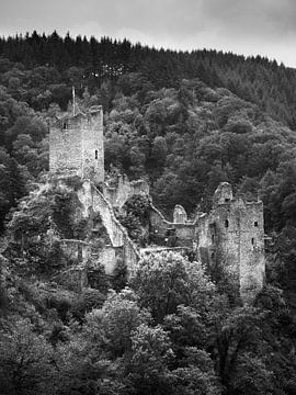 Ruin Niederburg Manderscheid dans l'Eifel 3 sur Jörg Hausmann
