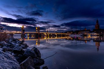 Stadtbrücke Kampen von Dennie Jolink