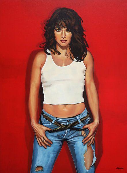 Ellen ten Damme schilderij van Paul Meijering