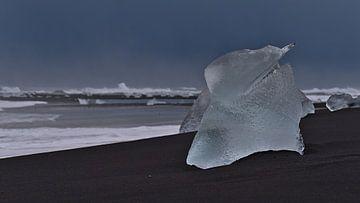 Eisformation am Diamond Beach von Timon Schneider