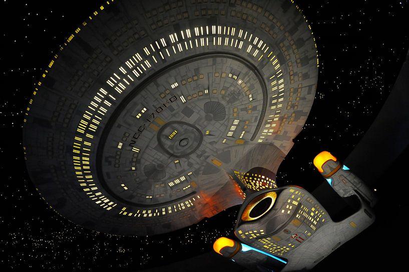 Star Trek Next Generation - USS Enterprise van Roel Ovinge