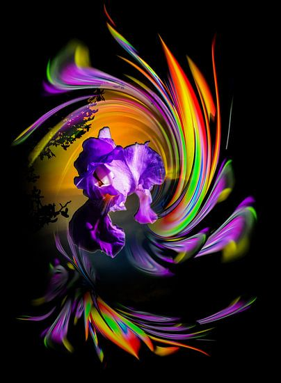 Blühende Fantasie 2 von Walter Zettl