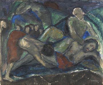 Grablegung, JOSEF EBERZ, 1914