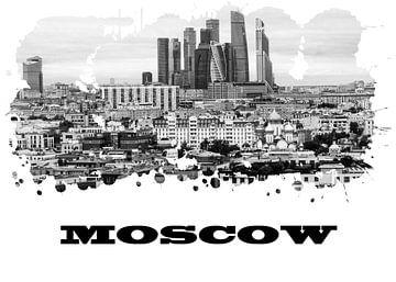 Moskau van Printed Artings