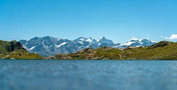 Lunghinsee met zijn berglandschap van Leo Schindzielorz