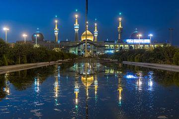 Iran: Imam Reza shrine (Teheran) van Maarten Verhees