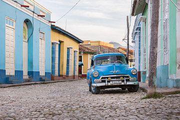 Oldtimer in Trinidad Cuba sur Celina Dorrestein