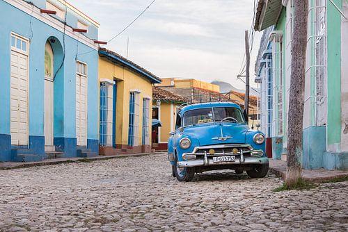Oldtimer in Trinidad Cuba van