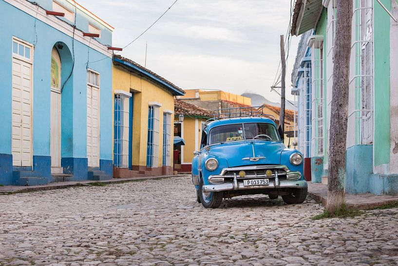 Oldtimer in Trinidad Cuba van Celina Dorrestein