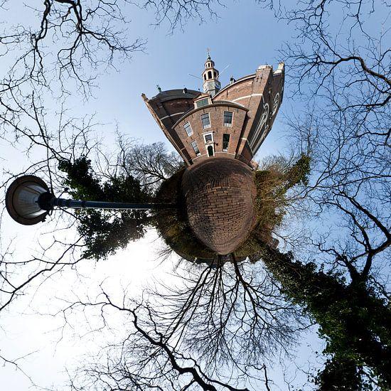 Planet Nieuwe Kerk Groningen van Frenk Volt