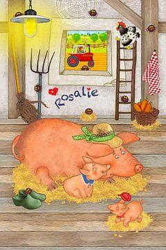 Mijn grappige varken Rosalie van Marion Krätschmer