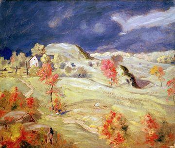 Louis Eilshemius, Kommender Sturm - 1890 von Atelier Liesjes