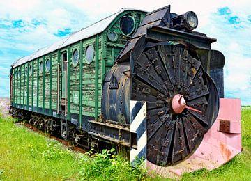 Snow removal  locomotive van Leopold Brix