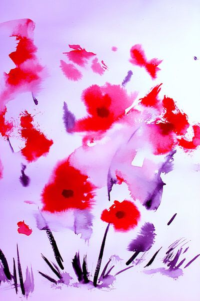 flowers bed van M.A. Ziehr
