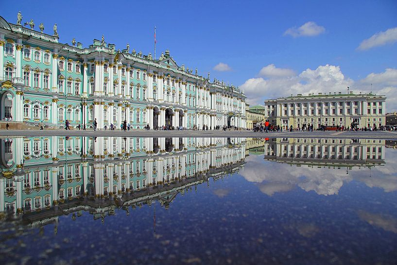 Eremitage St. Petersburg van Patrick Lohmüller