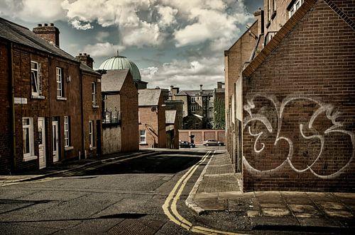 Dublin straat beeld van