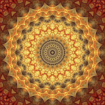 Mandala kracht van liefde van Marion Tenbergen