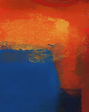 Abstrakte Komposition 1184 von Angel Estevez