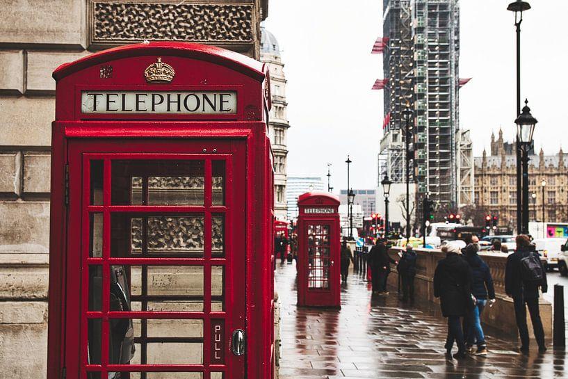 Telefooncel Londen van Sander Rozemuller