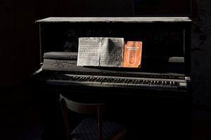 De achtergelaten piano van