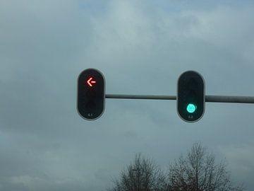 Rood of Groen stoplicht van Wilbert Van Veldhuizen