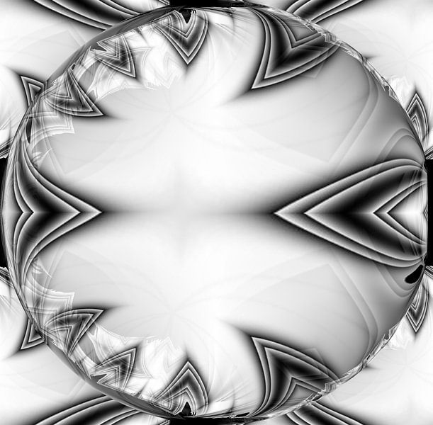 White Bubble von Nicky`s Prints