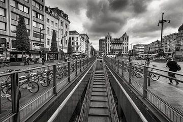 Fahrradparken Bahnhof Antwerpen von Rob Boon