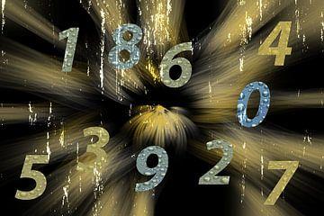 Konzept Zahlen : Countdown von Michael Nägele