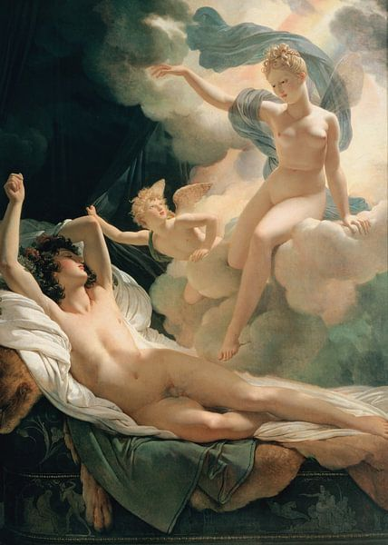Morpheus und Iris, Pierre-Narcisse Guérin von The Masters