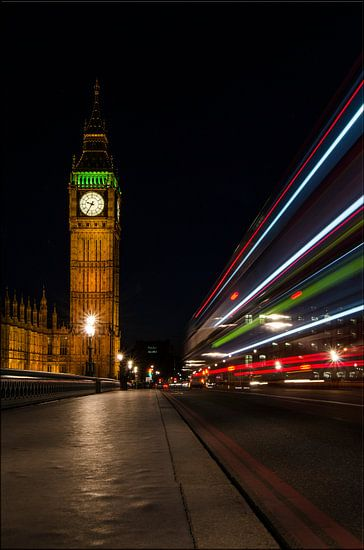 London in motion van Hans Kool