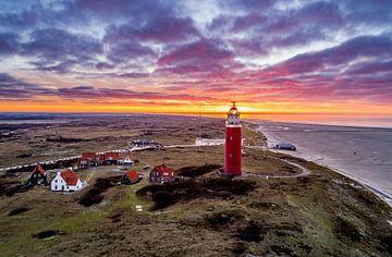 Leuchtturm Eierland Texel von Texel360Fotografie Richard Heerschap