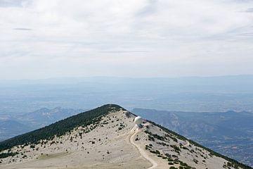 Vue  du Mont-Ventoux  sur Barbara Brolsma