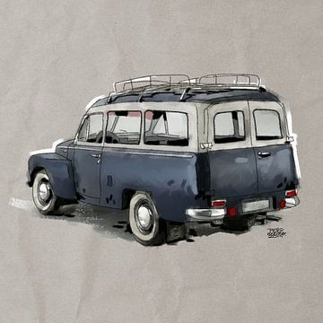 Volvo pv-445-duett sur