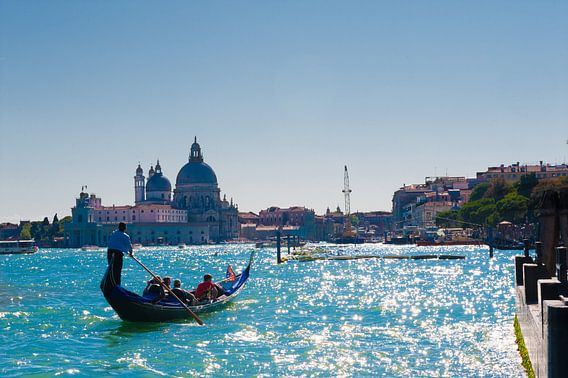 view of the Canals in Venice Italy