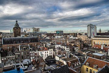 Utrecht vanaf de Domtoren van De Utrechtse Internet Courant (DUIC)