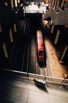 TGV   Zug à Grande Vitesse   Bahnhof Antwerpen von Guy Houben