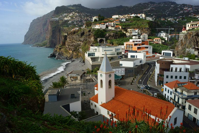 Camara de Lobos, Madeira van Michel van Kooten