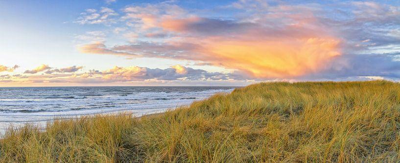 Zonsondergang op Texel / Texel Sunset von Justin Sinner Pictures ( Fotograaf op Texel)