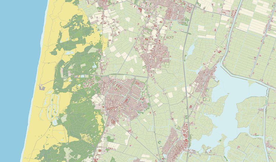 Kaart vanCastricum