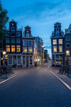 Paysage urbain d'Amsterdam sur Manuuu S