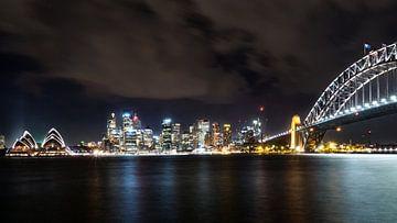Sydney skyline van Jasper den Boer