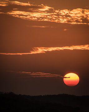 Zonsondergang van Minie Drost
