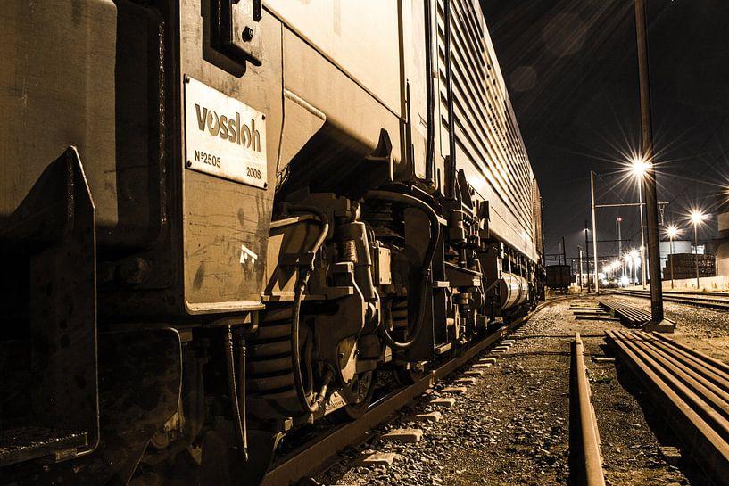 Urbex trein Antwerpen van Lars Mol