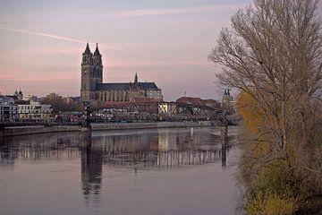 Magdeburg - de hoofdstad van Saksen-Anhalt van t.ART